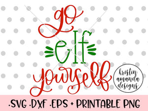 Go Elf Yourself Christmas SVG DXF EPS PNG Cut File • Cricut • Silhouette