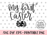 easter svg cut file