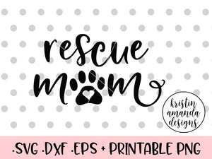 rescue svg cut file