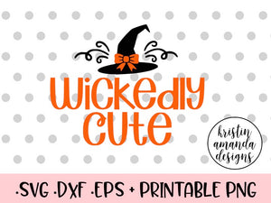 Halloween Svg Dxf Png Cut Files Cricut Silhouette Tagged Wickedly Cute Svg Kristin Amanda Designs
