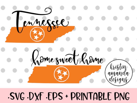 tennessee svg cut file