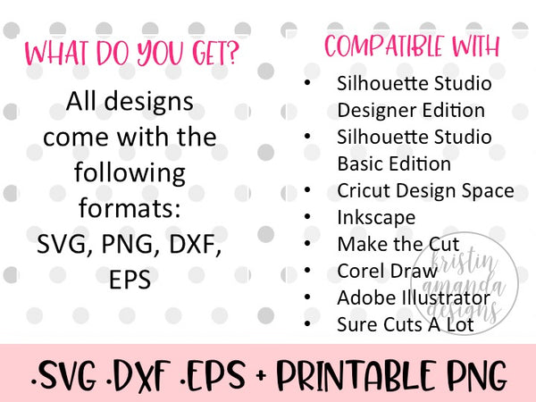 Hush Y'all SVG DXF EPS PNG Cut File • Cricut • Silhouette - SVG File Cricut Kristin Amanda Designs