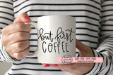 But First Coffee SVG DXF EPS PNG Cut File • Cricut • Silhouette
