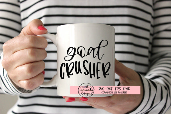 Goal Crusher New Year SVG DXF EPS PNG Cut File • Cricut • Silhouette