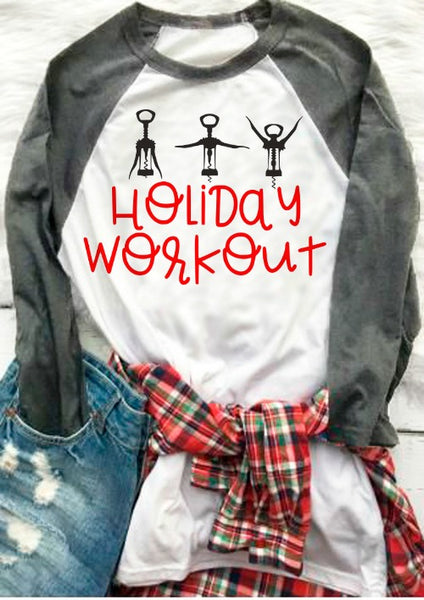 Holiday Workout Wine SVG DXF EPS PNG Cut File • Cricut • Silhouette