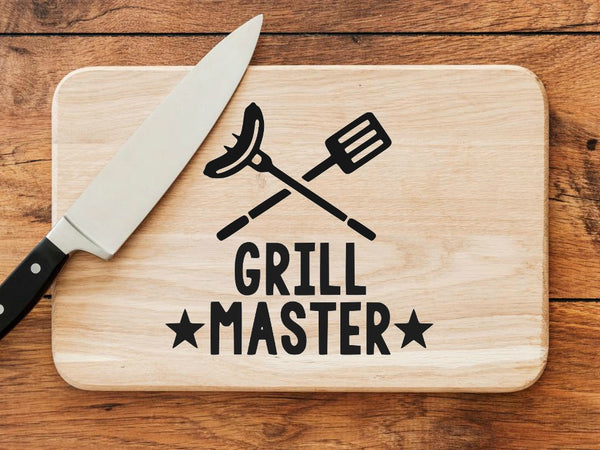 Grill Master Father's Day SVG DXF EPS PNG Cut File • Cricut • Silhouette