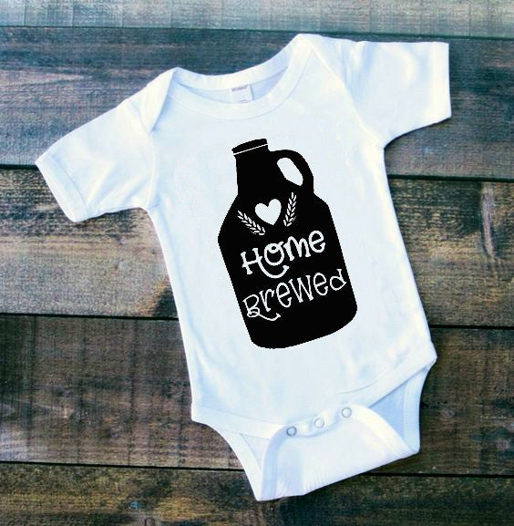 Home Brewed Newborn Baby SVG DXF EPS PNG Cut File • Cricut • Silhouette