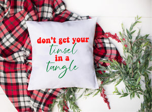 Don't Get Your Tinsel in a Tangle Christmas SVG DXF EPS PNG Cut File • Cricut • Silhouette