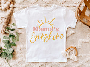 Mama's Sunshine Blessed Mama Mama's Blessing Matching Mother Daughter Blessed Mama Mother's Day SVG DXF EPS PNG Cut File • Cricut • Silhouette