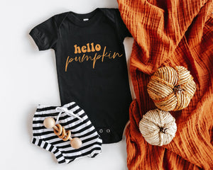 Hello Pumpkin Fall SVG DXF EPS PNG Cut File • Cricut • Silhouette