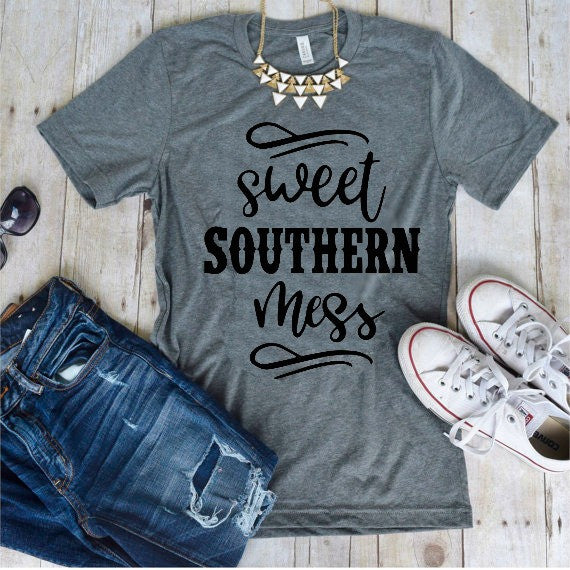 Sweet Southern Mess SVG DXF EPS PNG Cut File • Cricut • Silhouette