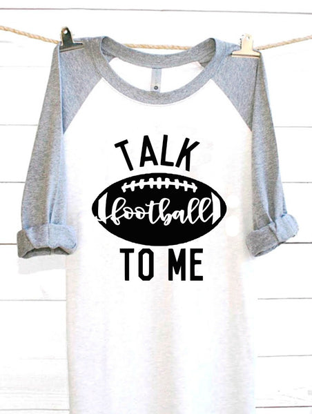 Talk Football To Me SVG DXF EPS PNG Cut File • Cricut • Silhouette