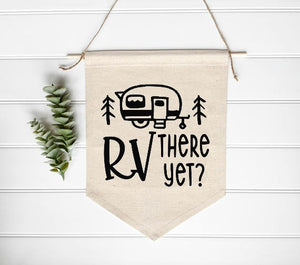 RV There Yet? Camper SVG DXF EPS PNG Cut File • Cricut • Silhouette - SVG File Cricut Kristin Amanda Designs