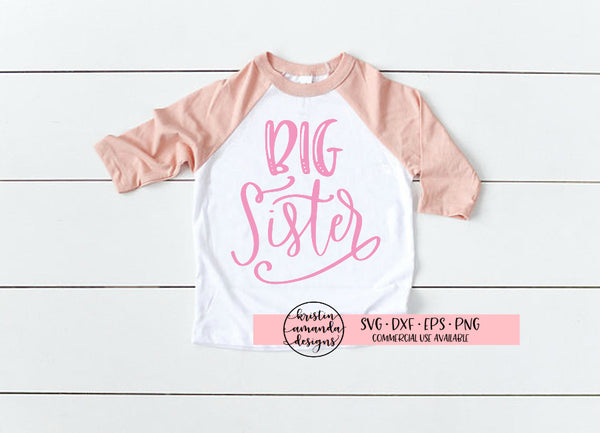 Big Sister SVG DXF EPS PNG Cut File • Cricut • Silhouette