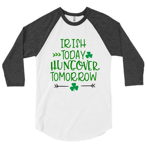 Irish Today Hungover Tomorrow St. Patrick's Day SVG DXF EPS Cut File • Cricut • Silhouette - SVG File Cricut Kristin Amanda Designs