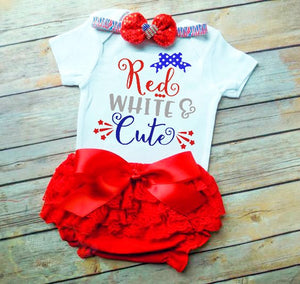 Red White And Cute 4th Of July Svg Dxf Eps Png Cut File Cricut Silhouette