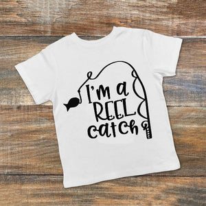 I'm a Reel Catch Fishing SVG DXF EPS PNG Cut File • Cricut • Silhouette - SVG File Cricut Kristin Amanda Designs