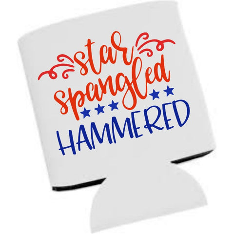 Star Spangled Hammered 4th of July SVG DXF EPS PNG Cut File • Cricut • Silhouette - SVG File Cricut Kristin Amanda Designs