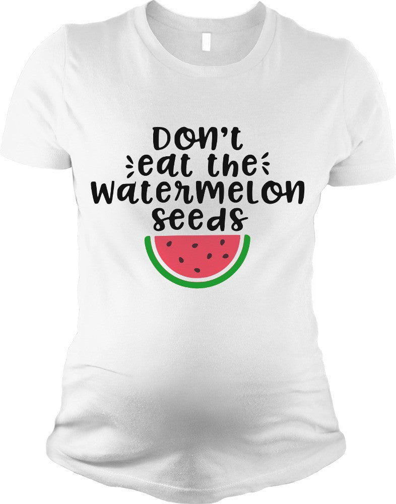 Don T Eat The Watermelon Seeds Pregnant Svg Dxf Eps Png