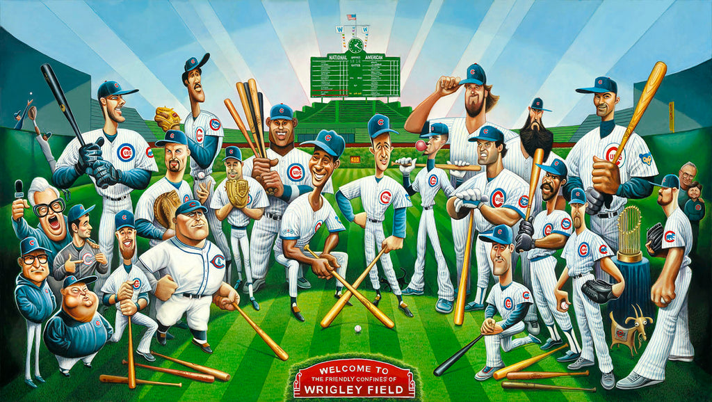 Tribute to the Legends - Chicago Cubs