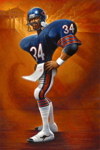 "Tribute to Walter Payton ""Sweetness"""