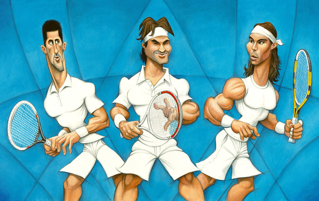 The Trivalry - Tribute to Novak Djokovic, Roger Federer and Rafael Nadal