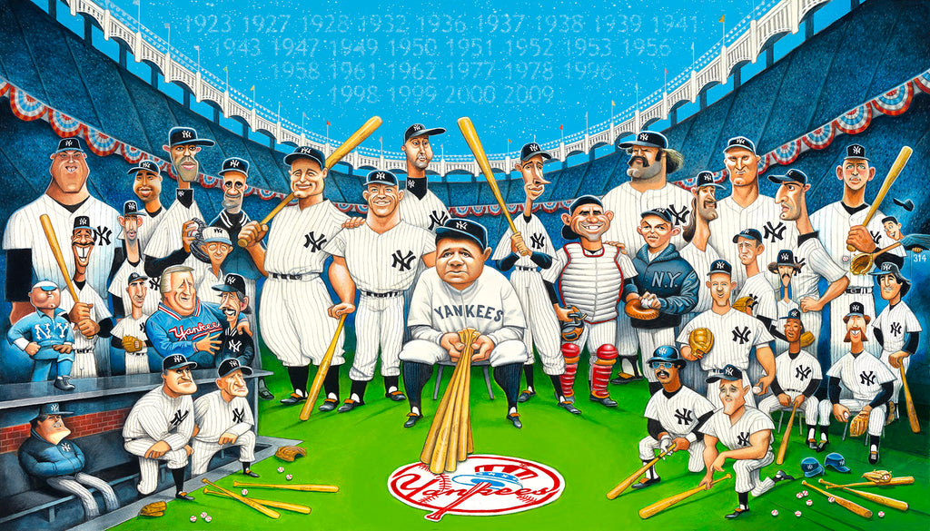 Tribute to the Legends - The New York Yankees