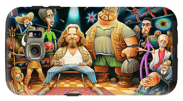 Tribute To The Big Lebowski - Phone Case