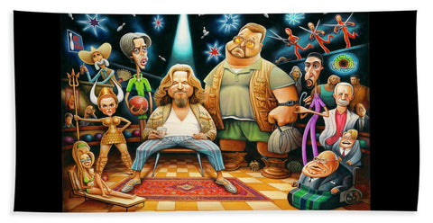 Tribute To The Big Lebowski - Beach Towel