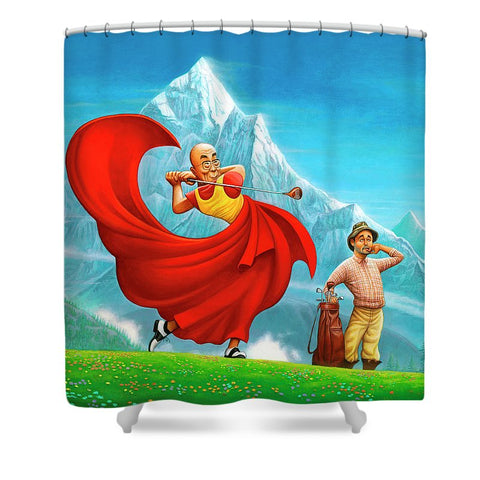 Dalai Lama - Shower Curtain
