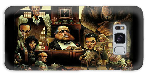 Tribute To The Godfather - Phone Case