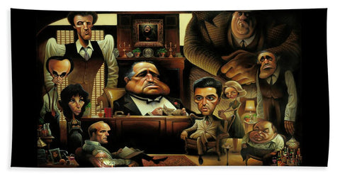 Tribute To The Godfather - Beach Towel