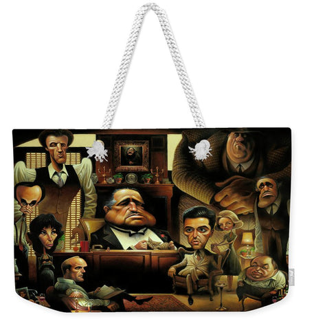 Tribute To The Godfather - Weekender Tote Bag