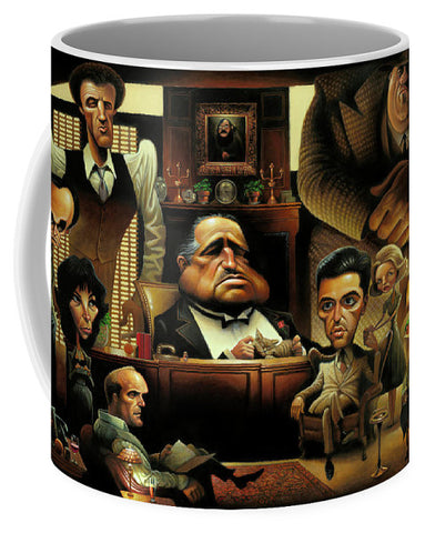 Tribute To The Godfather - Mug