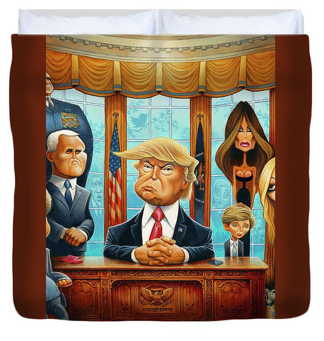Tribute To Trump - Duvet Cover