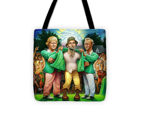Tribute To The Green Jacket - Tote Bag