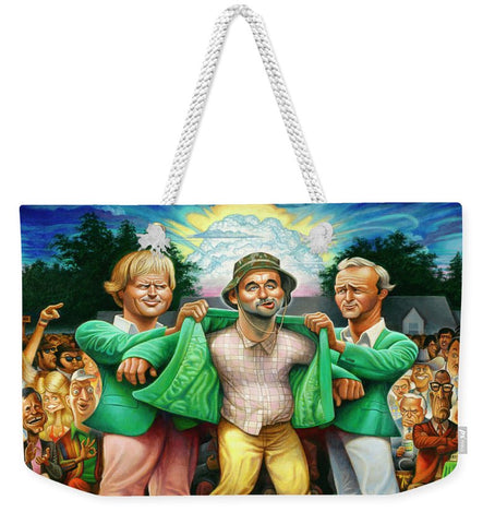 Tribute To The Green Jacket - Weekender Tote Bag