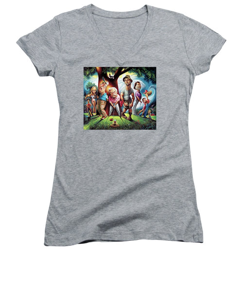 Caddyshack - Women's V-Neck (Athletic Fit)