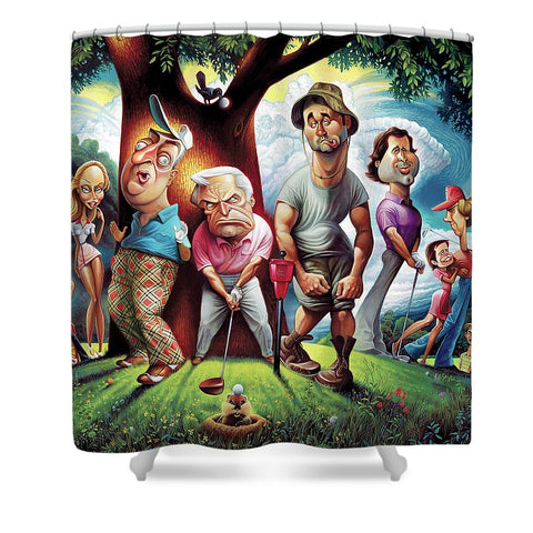 Caddyshack - Shower Curtain