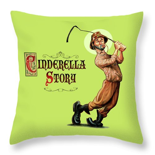 Cinderella Story - Throw Pillow