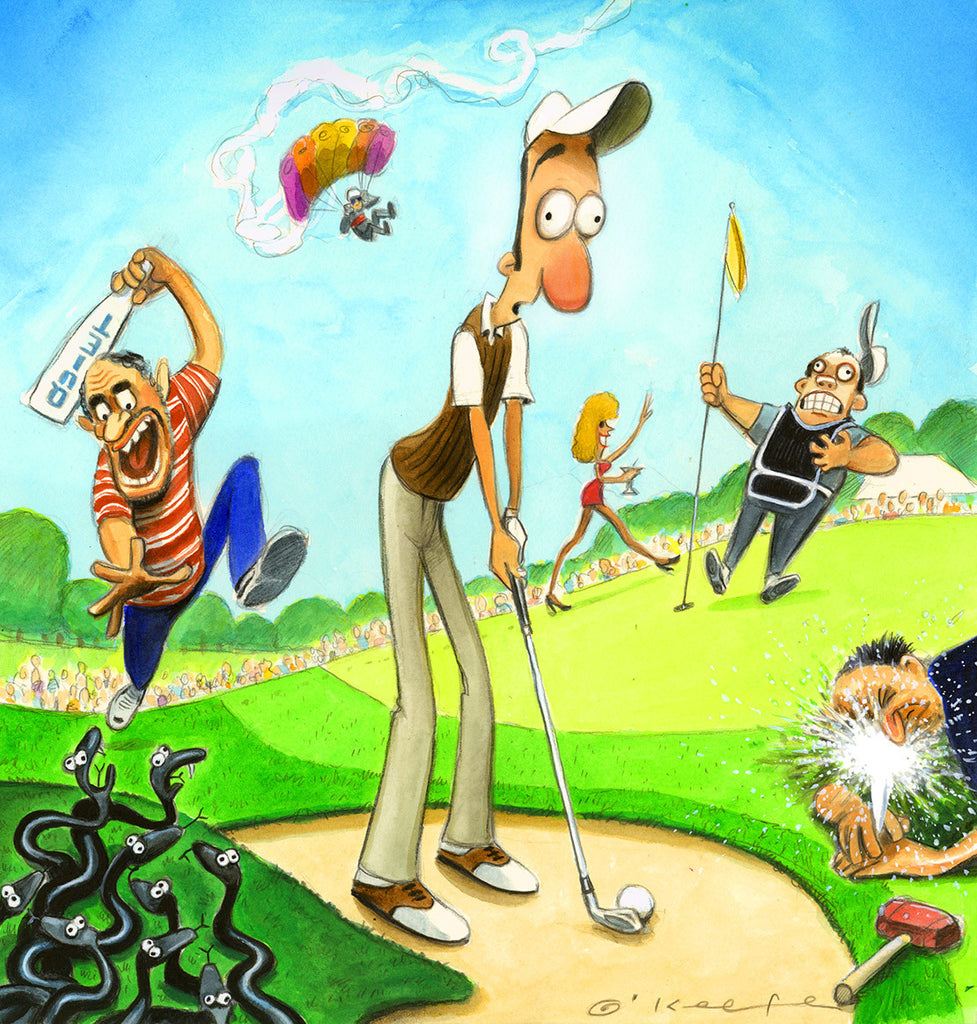 Crazy Golf Stories