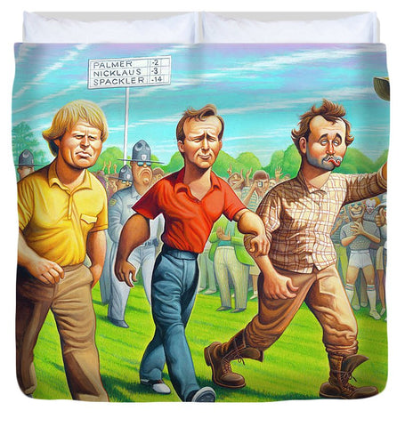 Miracle At Augusta - Duvet Cover