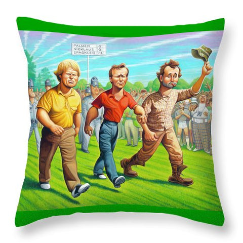 Miracle At Augusta - Throw Pillow