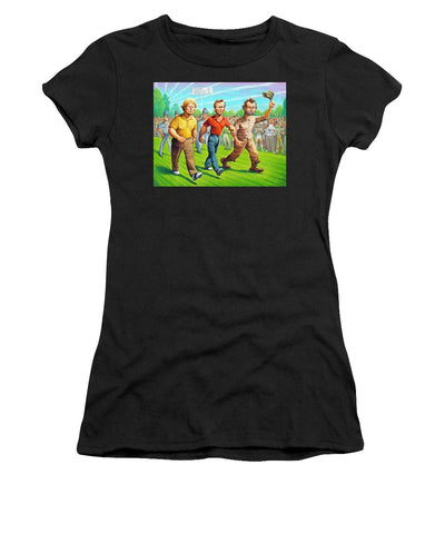 Miracle At Augusta - Women's T-Shirt (Athletic Fit)
