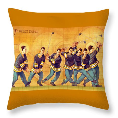The Perfect Swing - Throw Pillow