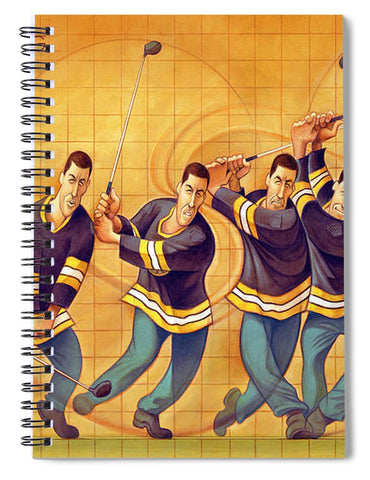 The Perfect Swing - Spiral Notebook