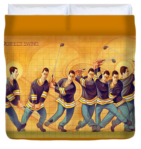 The Perfect Swing - Duvet Cover