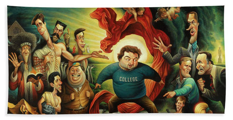 Tribute To Animal House - Beach Towel