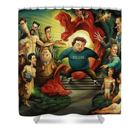 Tribute To Animal House - Shower Curtain