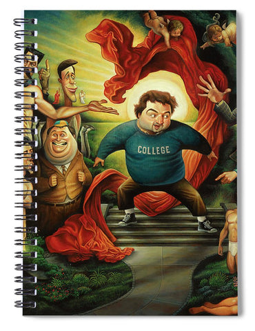 Tribute To Animal House - Spiral Notebook